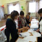 Участники семинара регистрируются на пульте управления