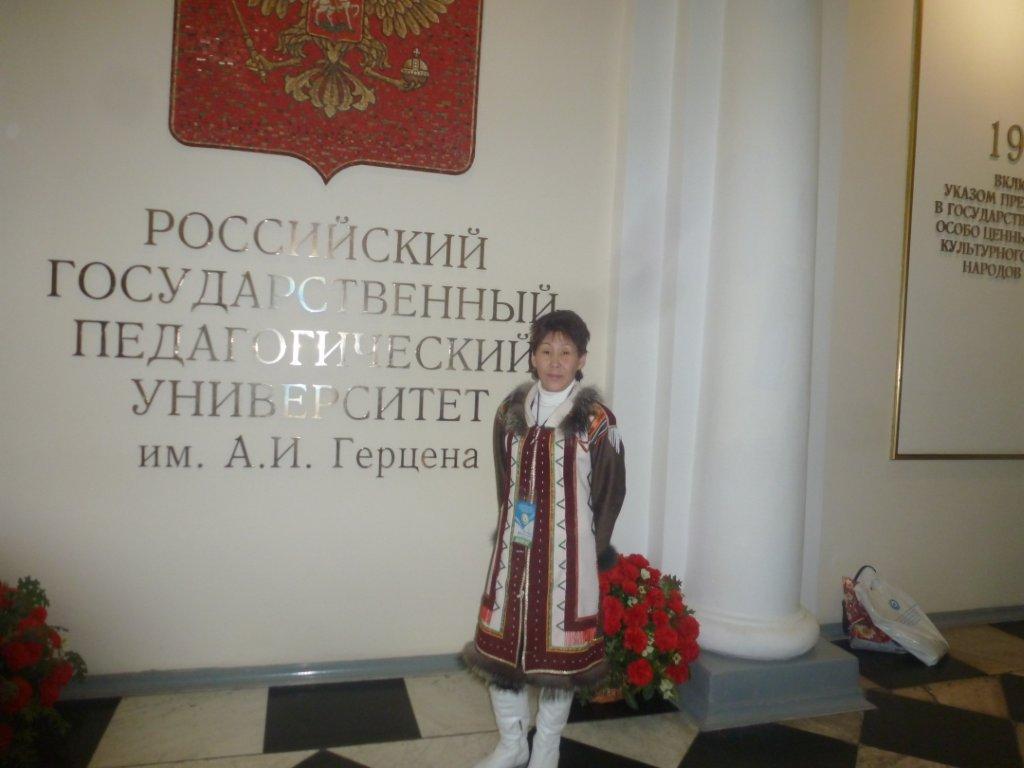 Коноренок Марта Алексеевна, учитель эвенкийского языка Суриндинской школы