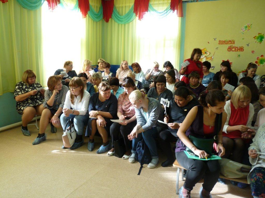 Обсуждение участниками просмотренного занятия детей