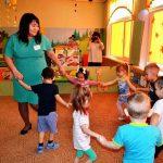 Конкурсное испытание «Педагогическое мероприятие с детьми» проводит Каплина Е.И