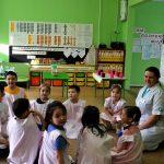 Конкурсное испытание «Педагогическое мероприятие с детьми» проводит Кирута И.Р