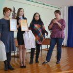 Софья Медведева с научным руководителем Е.А. Гавриловой, ВСШ