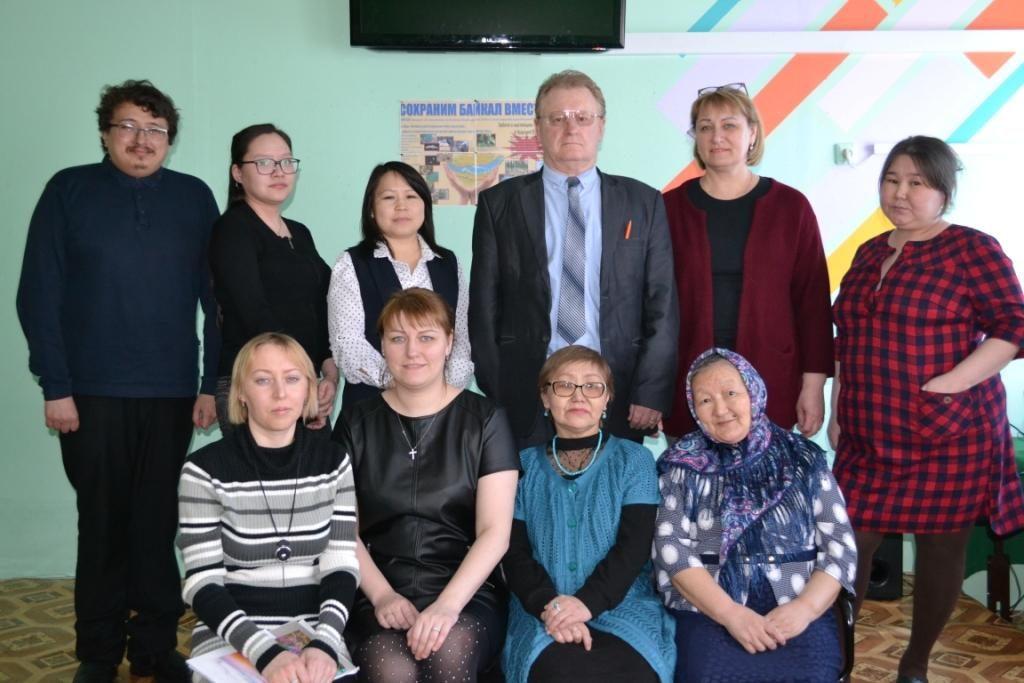 Нидымские педагоги с коллегами из райцентра